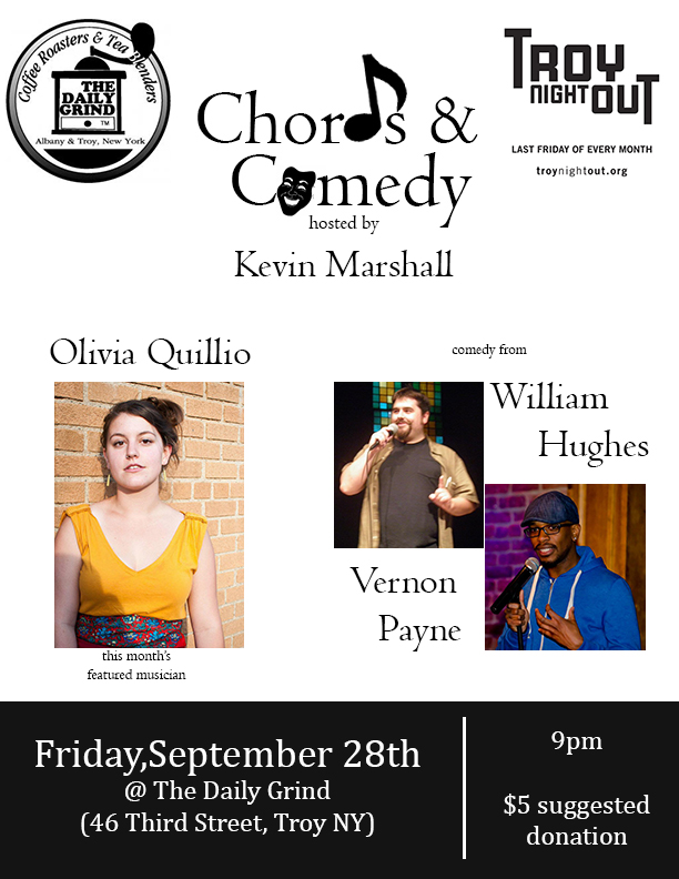 Troy Night Out Show This Friday Chords Comedy Kevin Marshalls