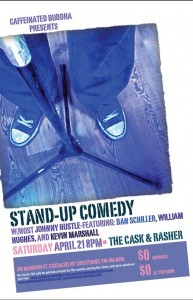 Caffeinated Buddha Presents: Kevin Marshall featuring William Hughes, Dan Schiller, host Johnny Hustle @ The Cask & Rasher | Coxsackie | New York | United States