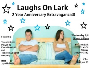 August Laughs on Lark - 2nd Anniversary Extravaganza! @ Elda's on Lark | Albany | New York | United States